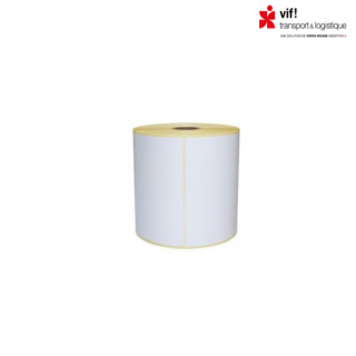 Etiquettes polyester 100 x 40 mm blanches