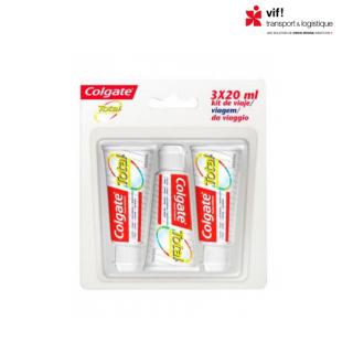 COLGATE -Dentifrice Total  3 x 20 ML