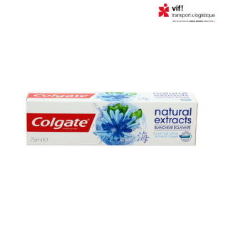 Dentifrice Natural Extracts blancheur éclatante - Colgate 75 ML